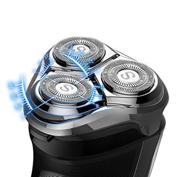 SweetLF elektrischer Rasierer mit Trimmer